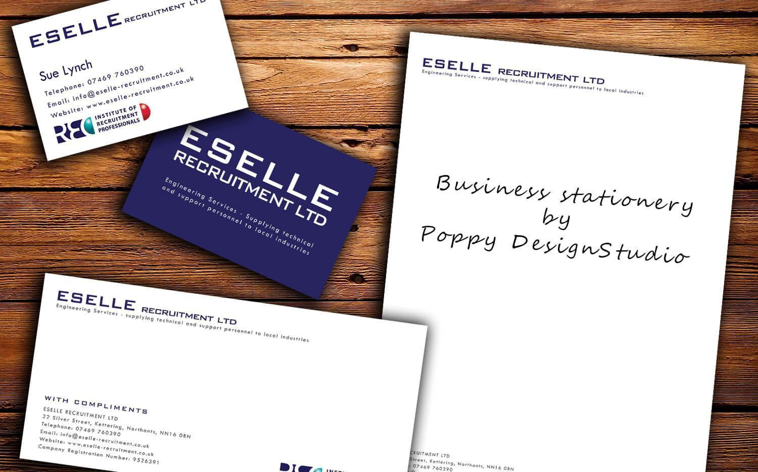 Business Stationery Design & Printing Eselle Recruitment