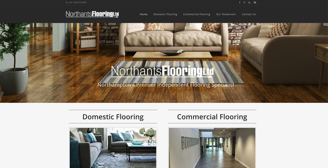 Website Design Northants Flooring