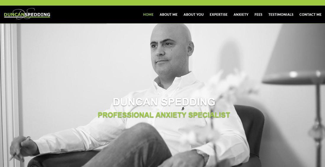Duncan Spedding Website Design