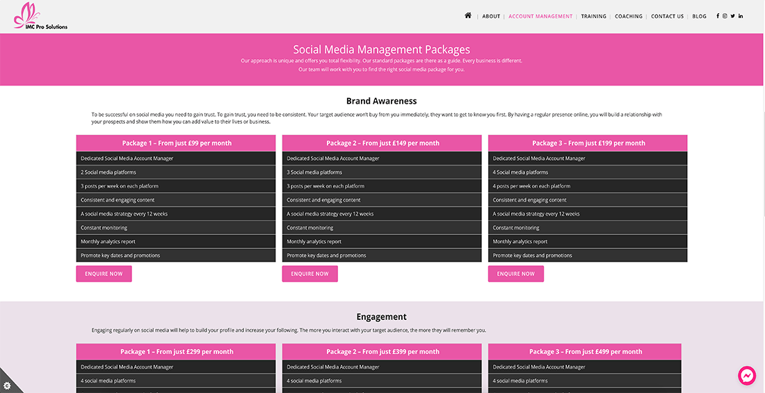 Rushden Website Design – IMC Pro Solutions