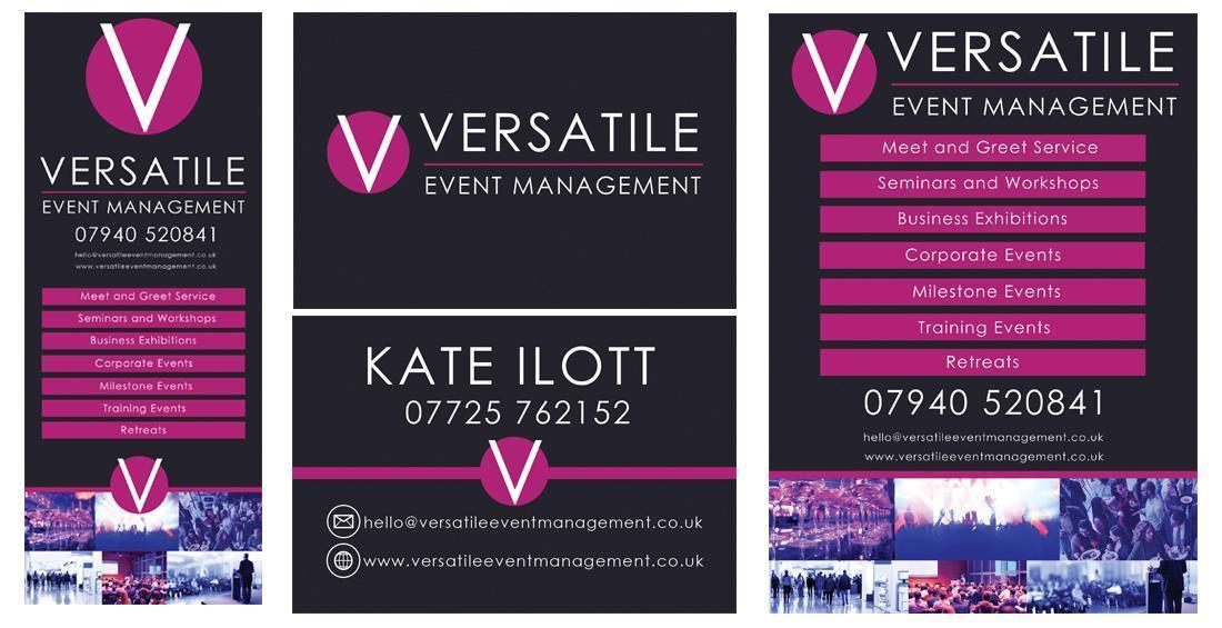 Thrapston Logo Design – Versatile Event Management