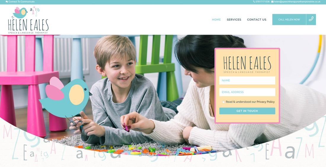 Website Design Helen Eales