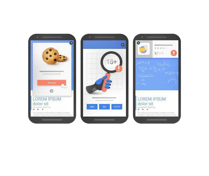 Examples of interstitials that would not be affected by the new signal, if used responsibly