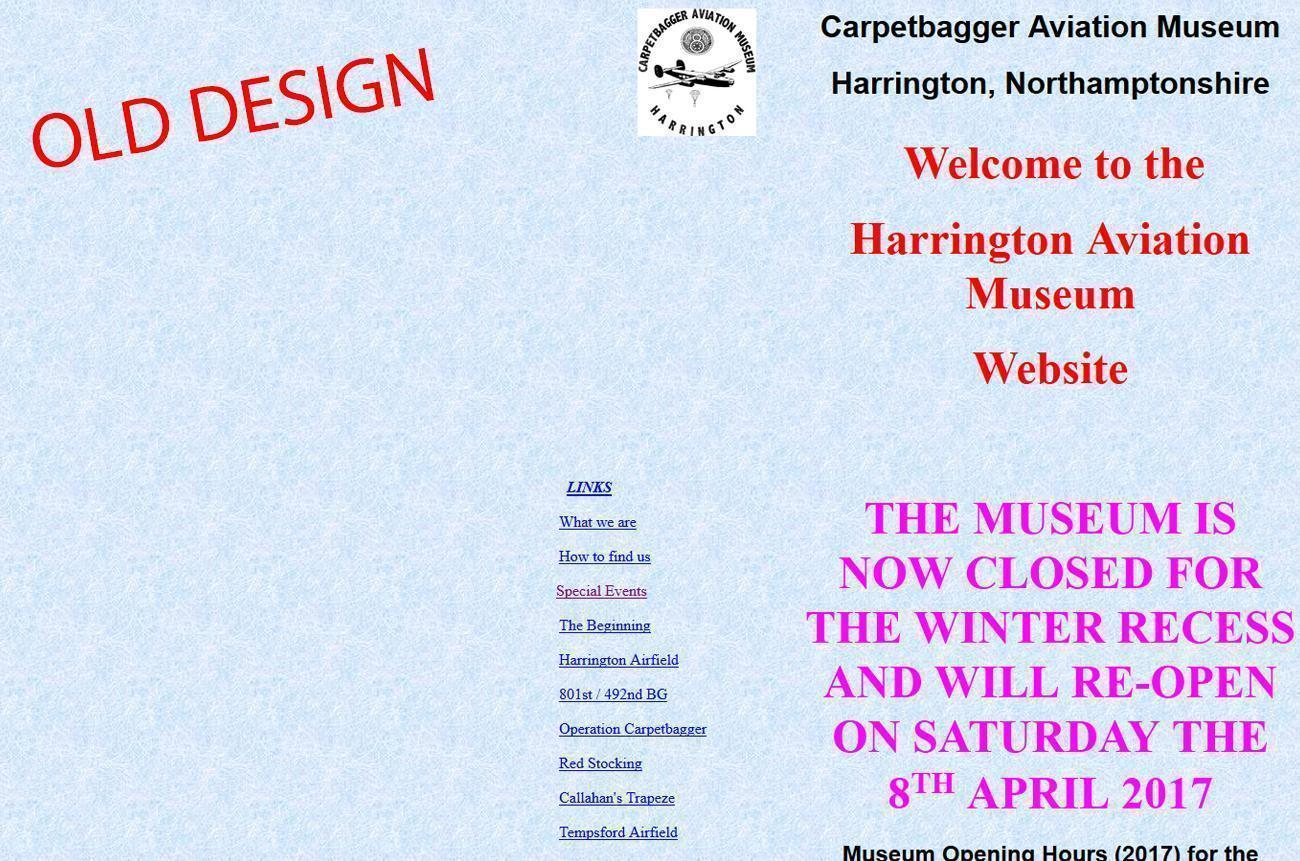 Harrington Website Design Harrington Museum