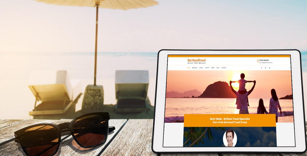 Travel Website Design – Ruth Webb