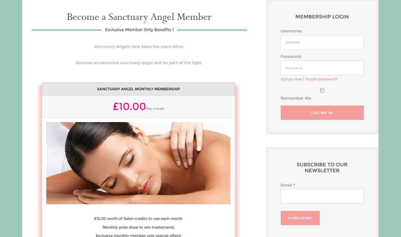 Desborough Webdesigner Sanctuary Of Beauty