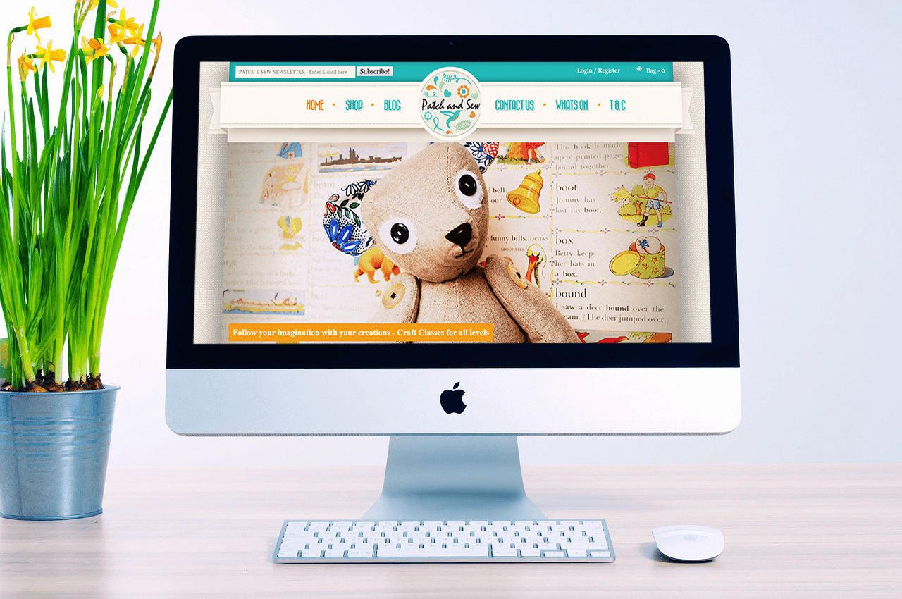 Market Harborough Web Design Patch & Sew