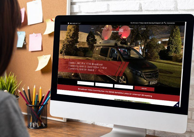 Red Cat Broadcasting - WordPress Website