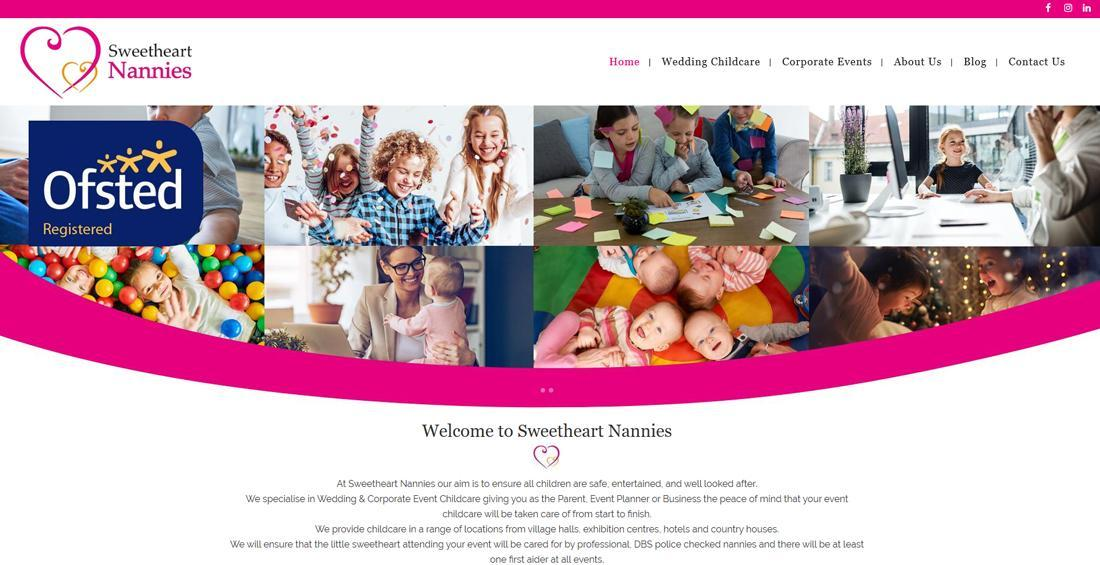 WordPress - Sweetheart Nannies