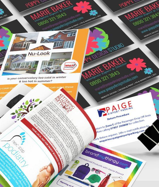PRINT AND POINT OF SALE MATERIALS